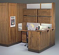 Traditional Woodgrain Systems Furniture
