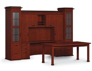 Altamont table desk wall unit suite