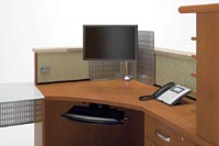 Personalize Corner Stations for comfortable performance with Entrata's adjustability accessories.