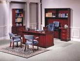 Gibraltar traditional executive office furniture suite