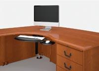 The CRT desk demonstrates Coronado's wire