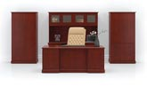 coronado traditional veneer executive office furniture suite