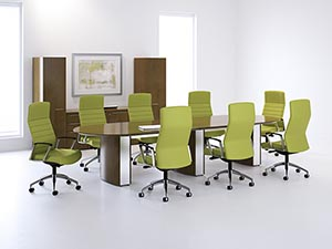 Overture Conference Collection From Paoli Office Furniture On Sale - Conference table with storage