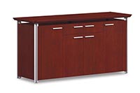 "At 36"" high, buffet credenzas provide convenient serving height"
