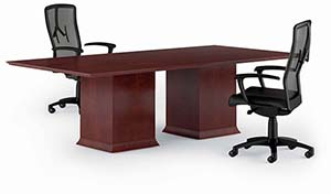 Prominence Executive Conference Table. Shown in Traditional Cherry