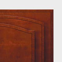 Prominence tops have select, figured maple inlays with quartered cherry borders, separated by an ebony inlay.