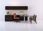 Revival modern look executive office furniture