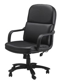 comfort series big & tall executive chair in leather