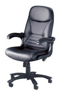 comfort series big & tall chair in leather