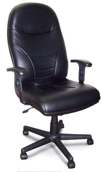 comfort executive high-back leather