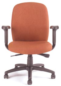 8100 task chair front view