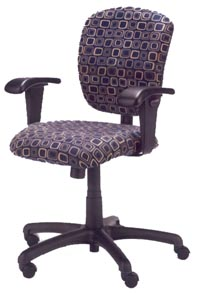 radar task chair with arms