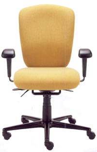 Radar high performance task chair with arms