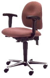 Zing High Performance Task Chair with arms