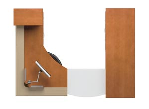 Entrata Reception Series from Paoli Office Furniture On